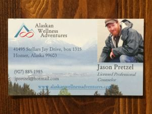 Business card for Jason Pretzel