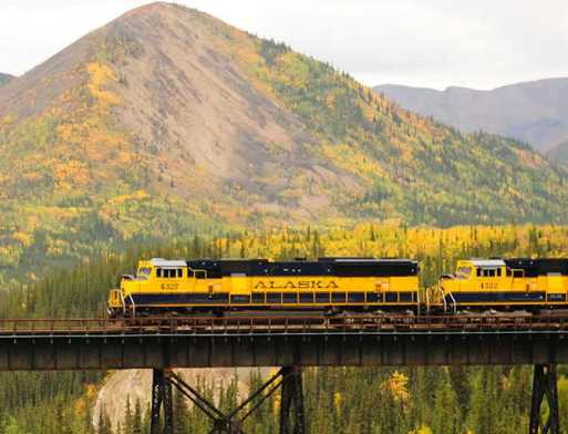 Image result for See Alaska via Rail