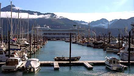 Seward's small boat harbor
