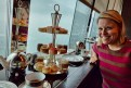 Tea at the Ritz--on the 103rd floor