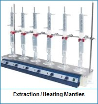 Extraction  Heating Mantles