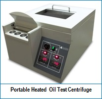 Portable Heated Oil Test Centrifuge