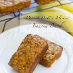 Peanut Butter Honey Banana Bread