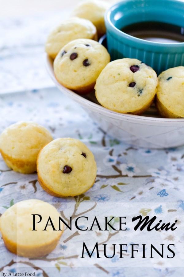 Pancake Mini Muffins | A Latte Food