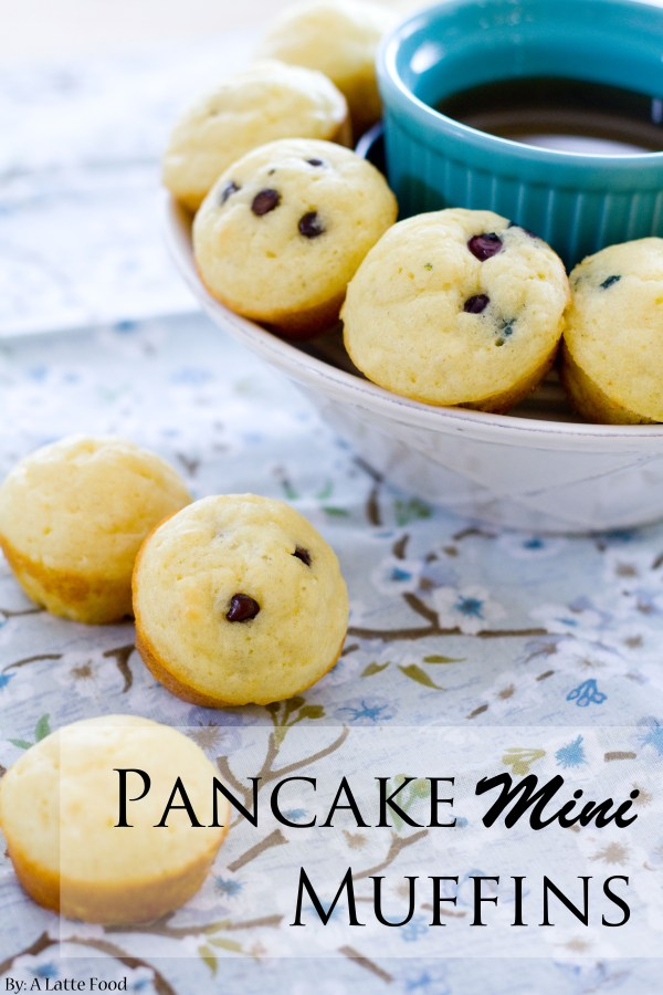 Pancake Mini Muffins | A Latte Food