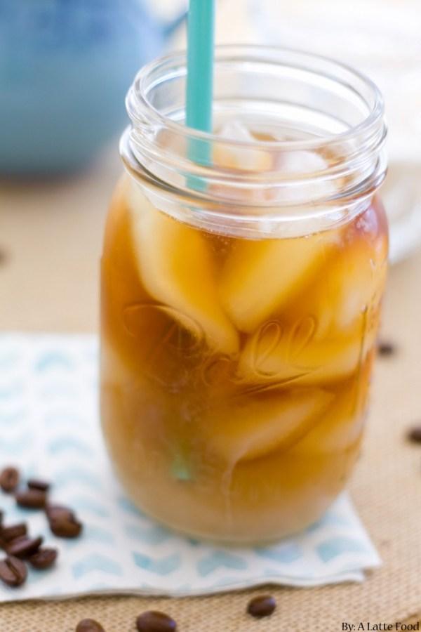 Homemade Iced Coffee | A Latte Food