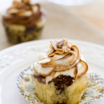 Chocolate Vanilla Marble Cupcakes | A Latte Food