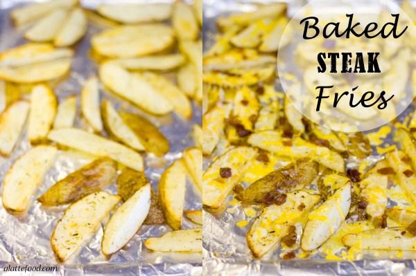 Baked Steak Fry Nachos | A Latte Food