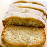 Maple Glazed Banana Bread | A Latte Food