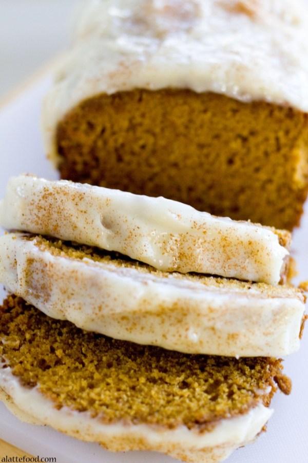 Classic Pumpkin Streusel Bread   A Latte Food