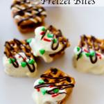 Candy Bar Pretzel Bites | A Latte Food