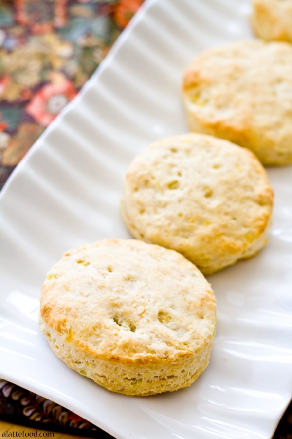 Sweet Potato Biscuits | A Latte Food