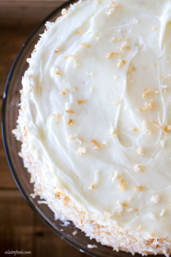 Classic Coconut Cake | A Latte Food