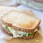 Egg White and Avocado Breakfast Sandwich