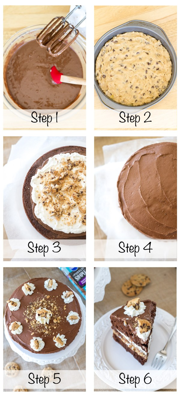 Cookie Cake Steps 1