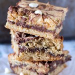 Nutella White Chocolate Macadamia Nut Bars