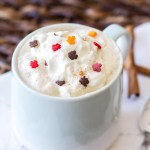 This easy homemade latte is full of sweet maple flavor, maple whipped cream, and tastes like all the flavors of fall!