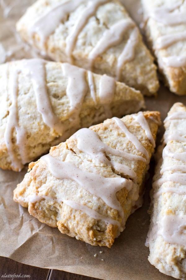 Maple Cream Scones | A Latte Food