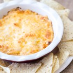Cheesy Barbecue Chicken Dip
