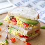 Sourdough Fiesta Breakfast Sandwich