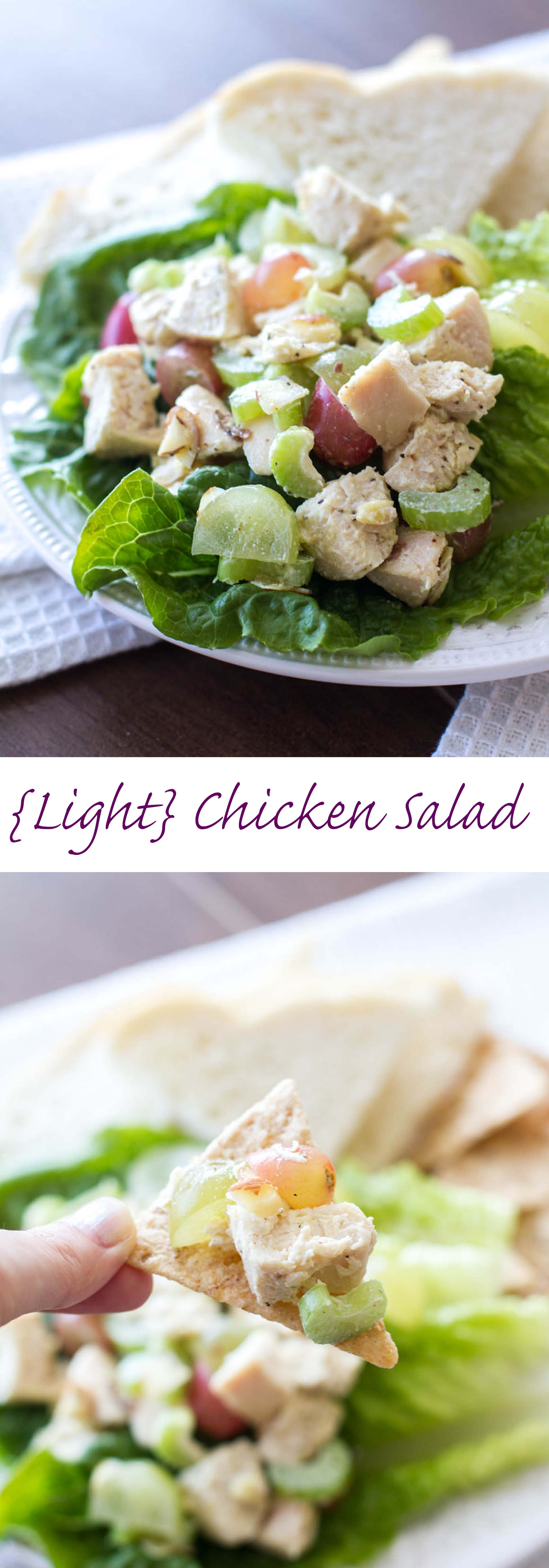 Lovely Light And Healthy Chicken Salad Recipe ~ This Quick And Easy Chicken Salad  Recipe Is Low