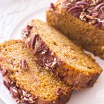 Pumpkin Pecan Banana Bread
