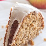 Apple Spice Bundt Cake with a Vanilla Glaze