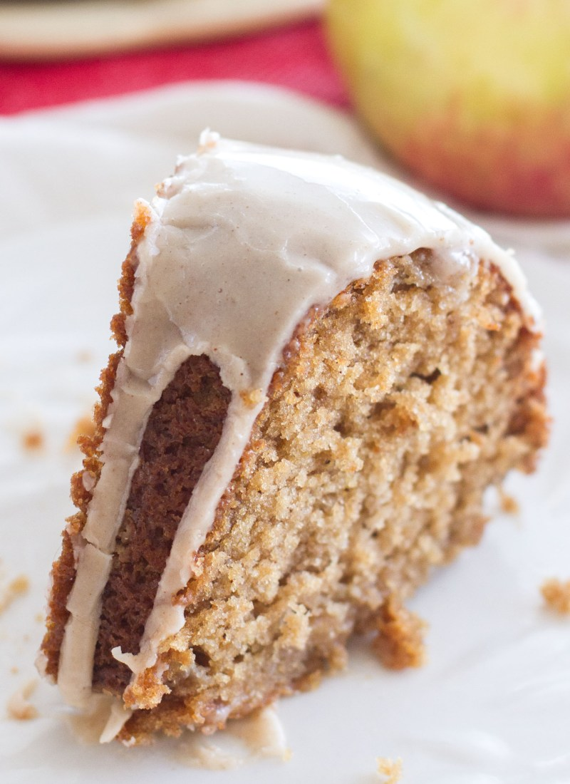 Apple Spice Bundt Cake with a Vanilla Glaze