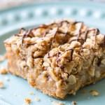 Gooey Peanut Butter Crumb Bars