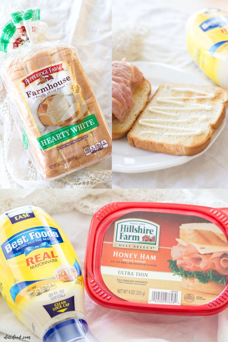 This Chicken Cordon Bleu Sandwich is hearty, delicious, and only 6-ingredients! This easy sandwich recipe is made with wholesome ingredients, and is a fun twist on a classic dish!
