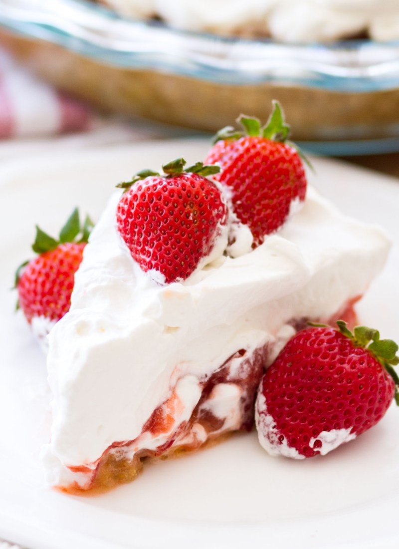 Fresh Strawberry Lemon Pie