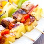Sweet & Savory Hawaiian Pork Kabobs