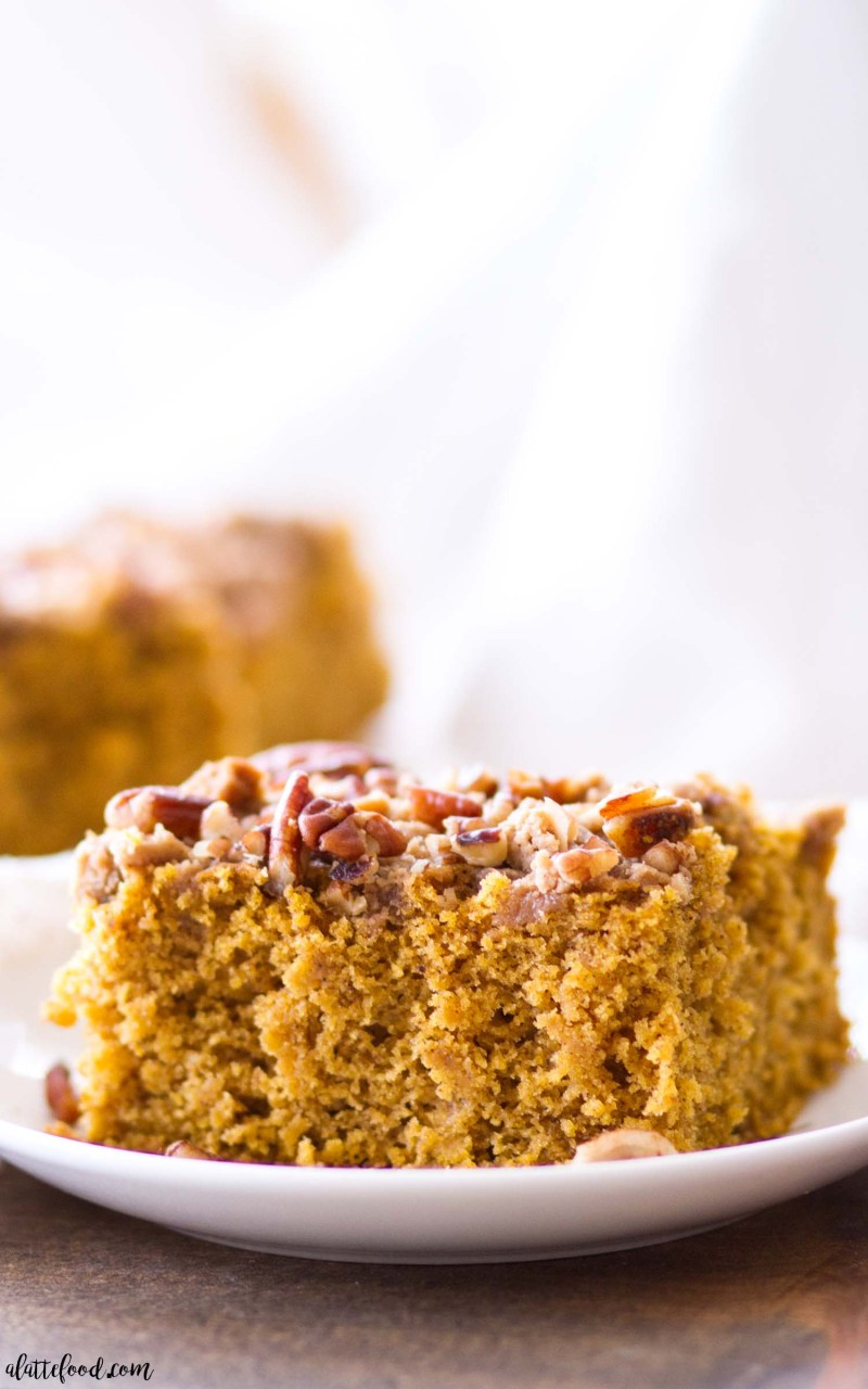 how to make pumpkin coffee cake