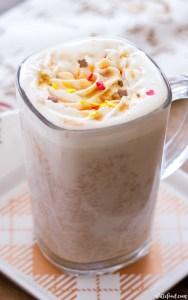 maple pumpkin latte