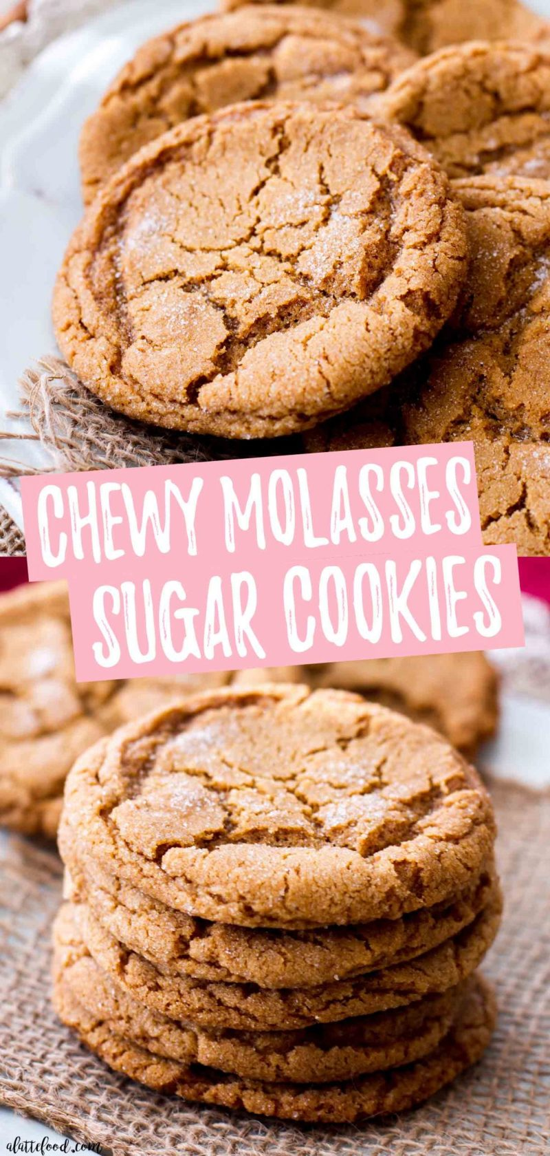 the best chewy molasses cookies collage photo