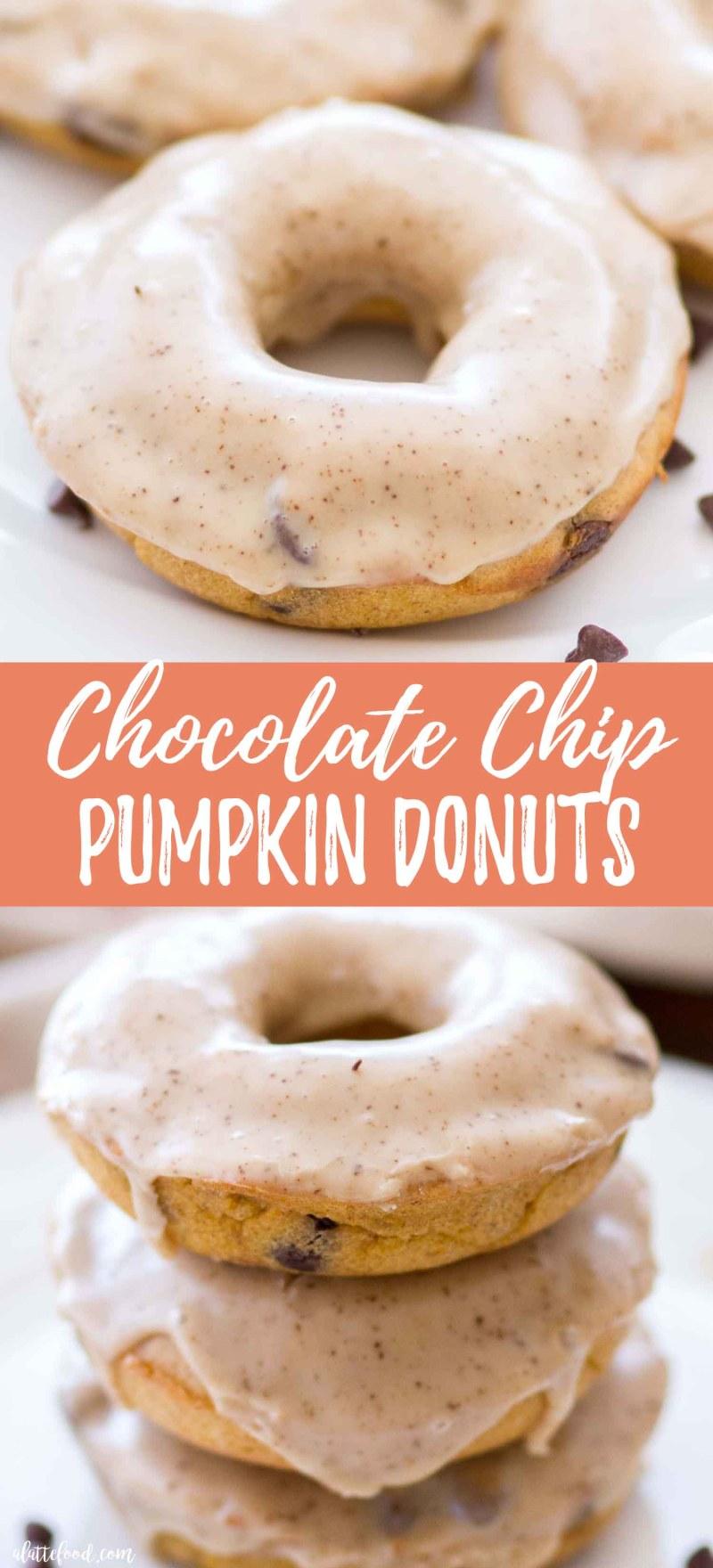 Chocolate Chip Pumpkin Donuts Recipe (baked pumpkin donuts)