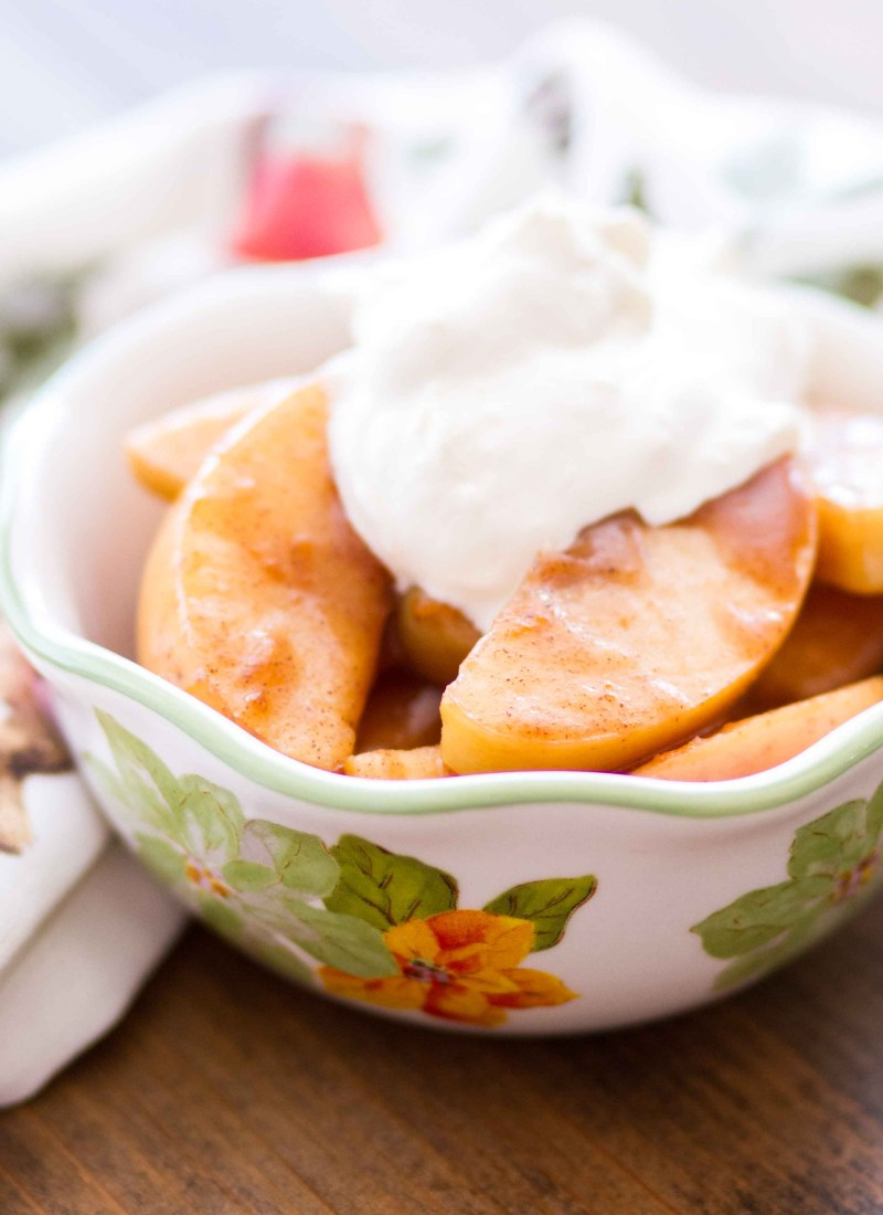 Slow Cooker Spiced Apples Recipe