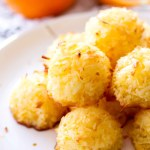 Easy Orange Coconut Macaroons
