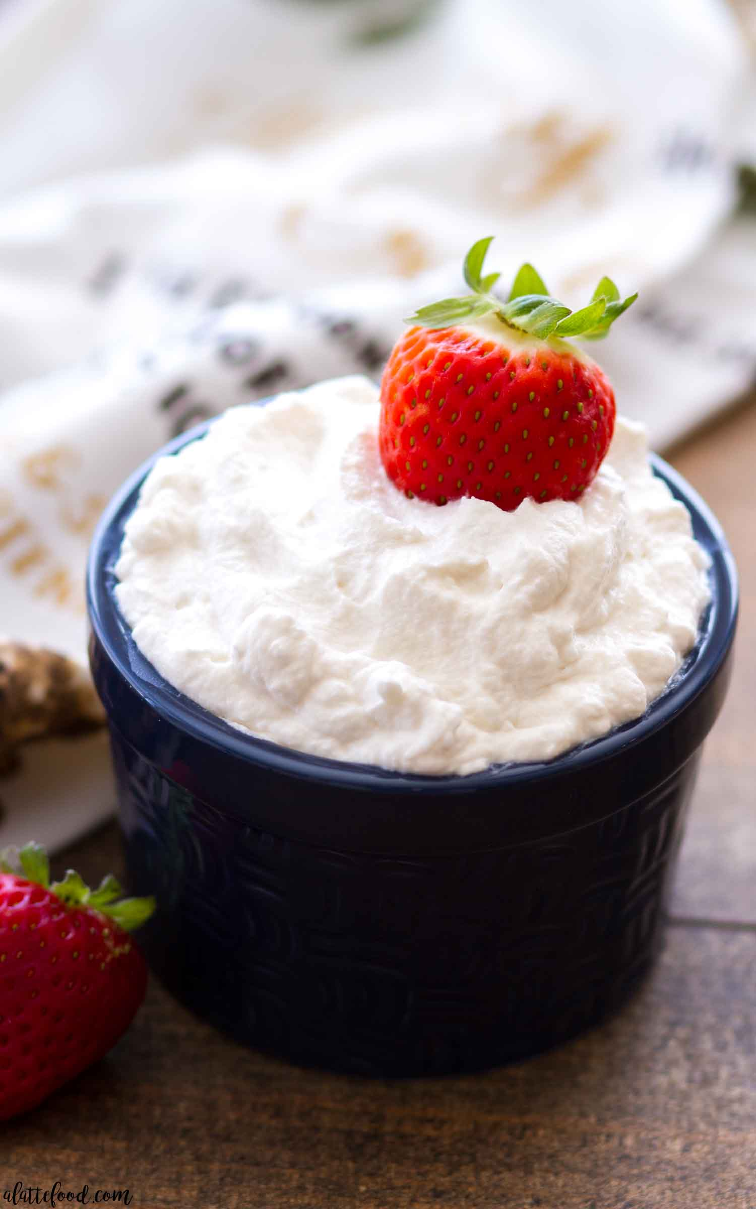 Easy Homemade Whipped Cream - A Latte Food