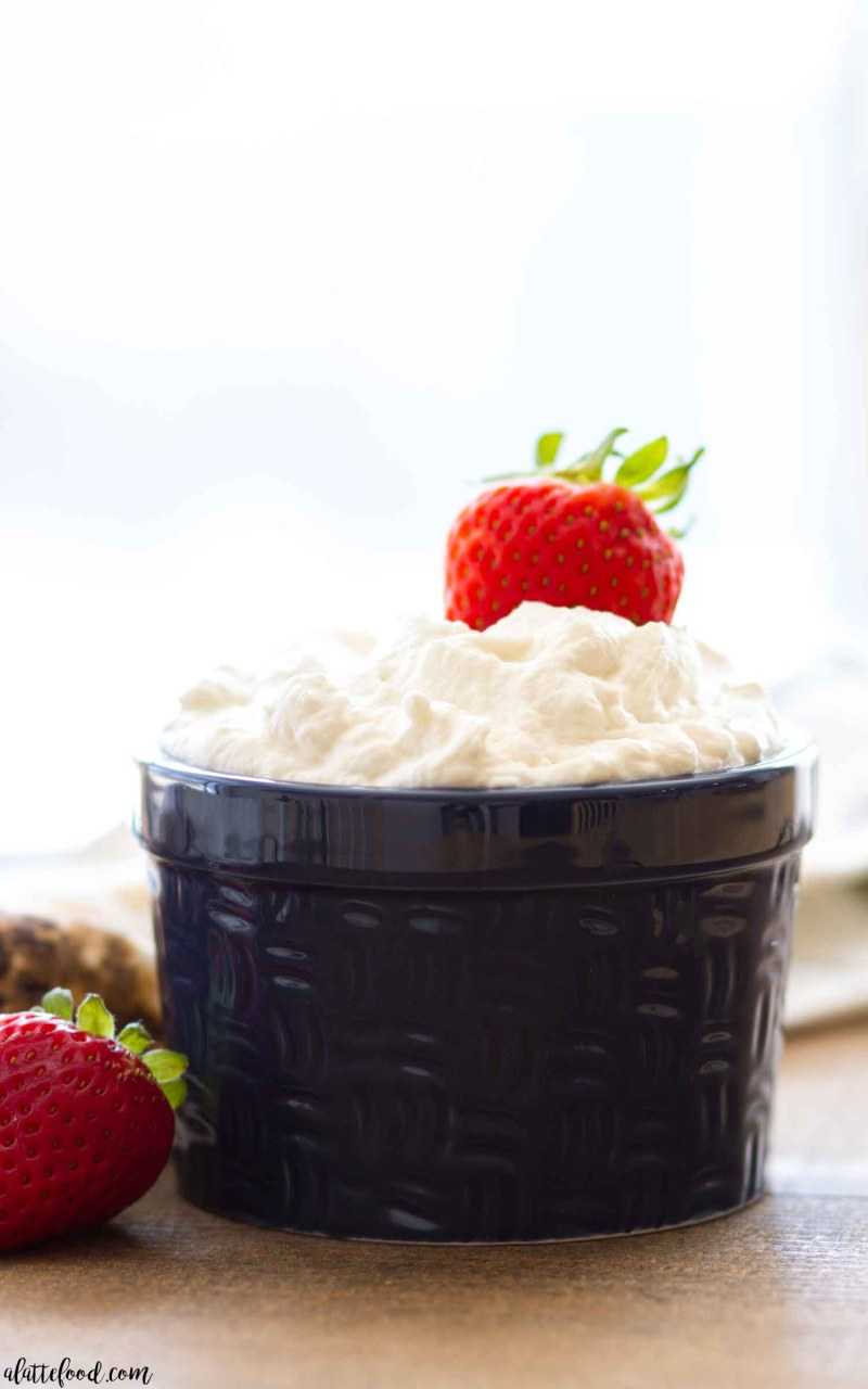 Wondering how to make Homemade Whipped Cream?
