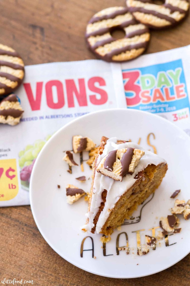 Easy Fudge Stripe Coffee Cake Recipe with a Homemade Vanilla Glaze