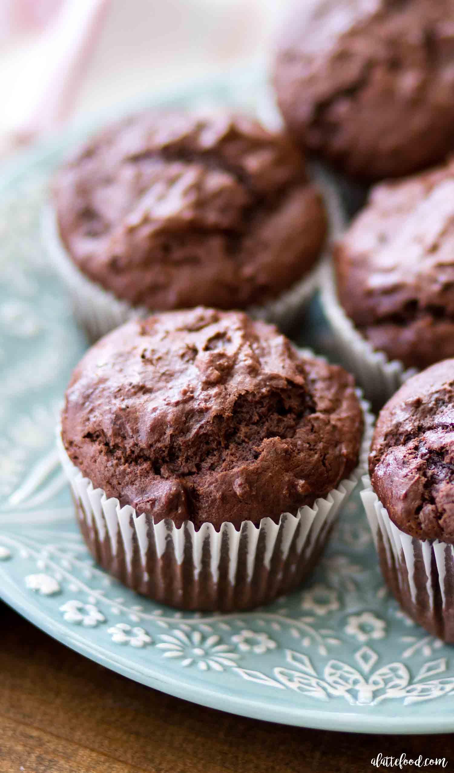 Chocolate muffin recipe 1 egg