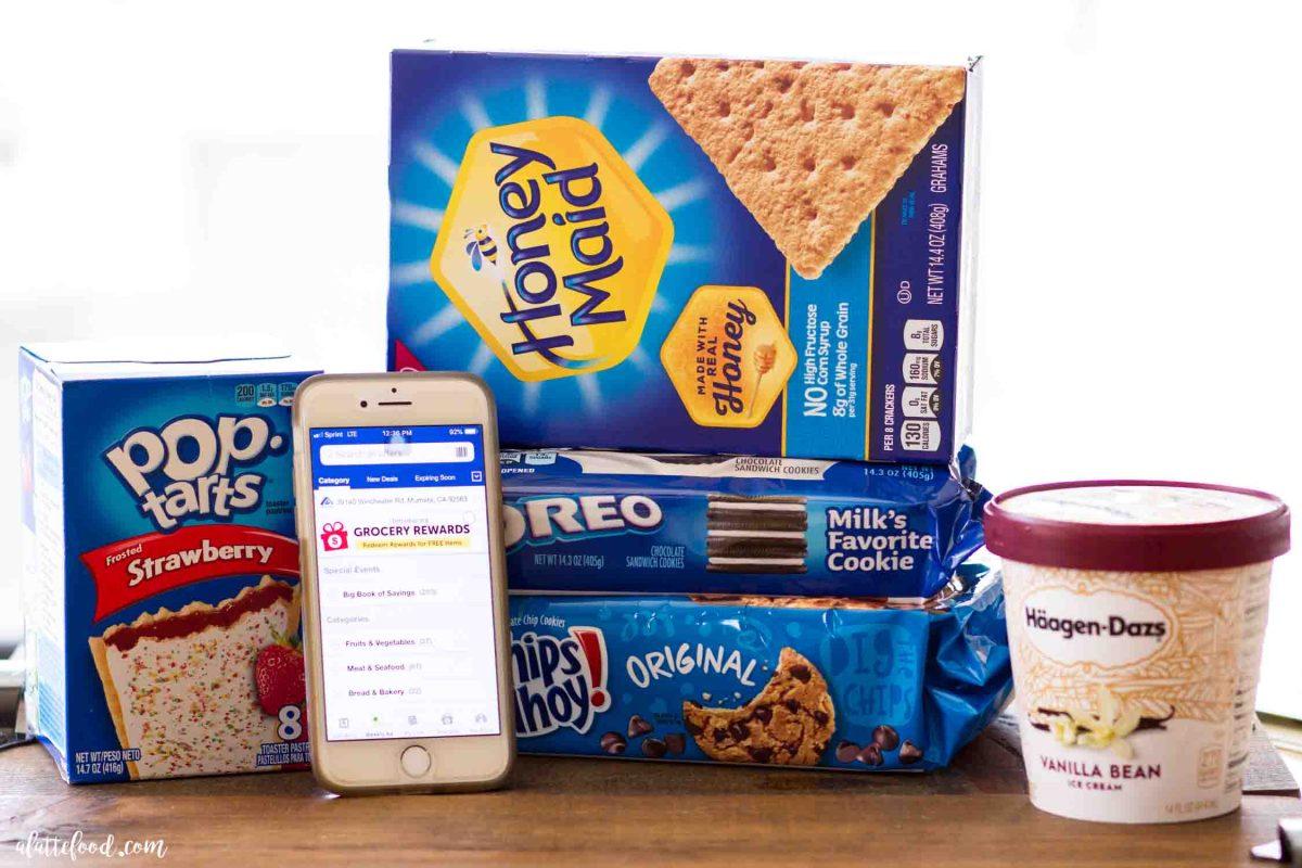 ingredients for 4 easy ice cream sundae recipes