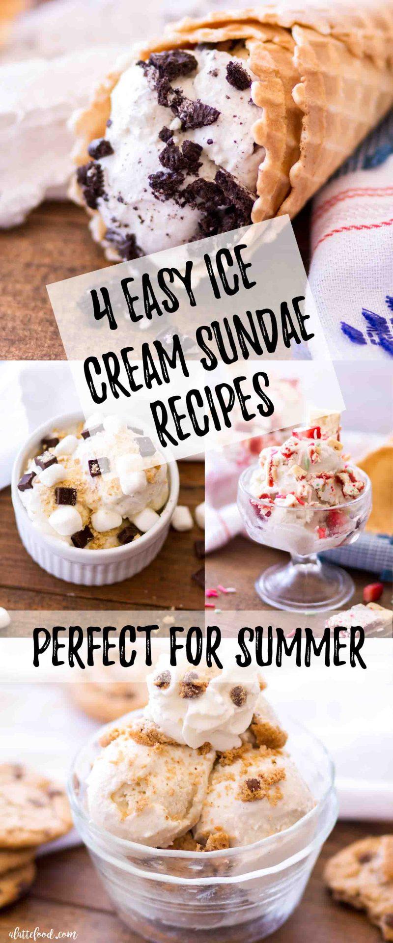 four easy ice cream sundae recipes perfect for summer