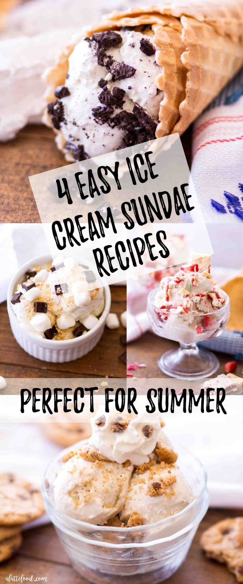 four easy ice cream sundae recipes perfect for summer
