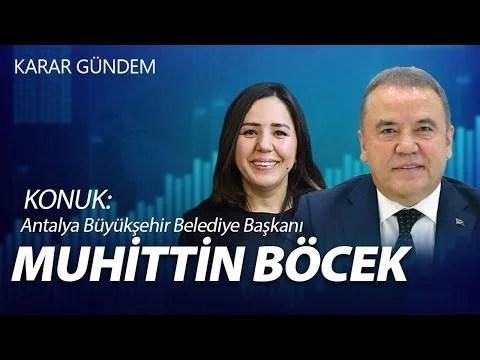 Türkiye Yanıyor Konuk: Muhittin Böcek | KARAR GÜNDEM | CANLI |