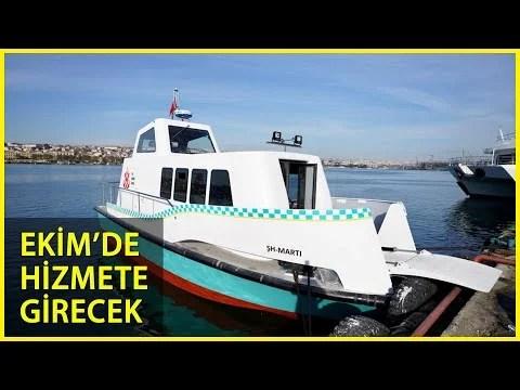 İstanbul'da 8 Deniz Taksi Suya İndirildi