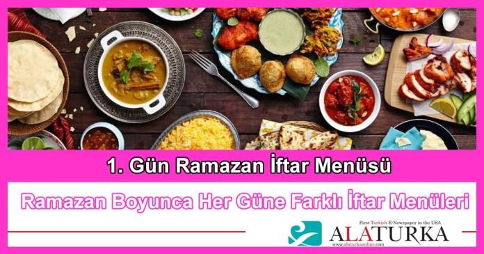 1 Gun Ramazan Iftar Menusu