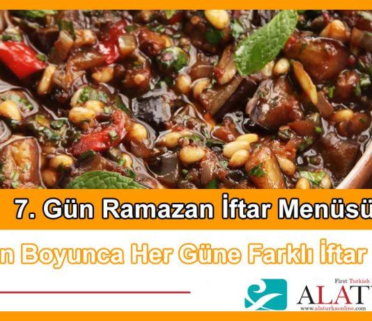 7 Gun Ramazan Iftar Menusu
