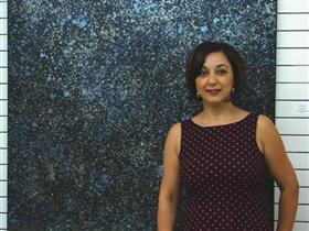 Türk sanatçı Florida Palm Beach'te sergi açtı